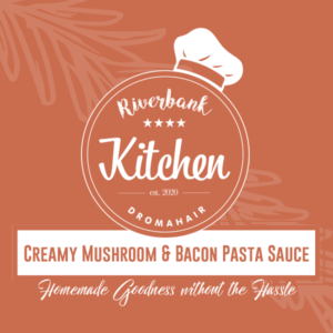 Creamy Mushroom and Bacon Pasta Sauce 520ml